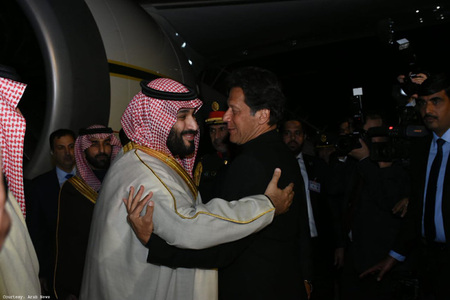 PM Imran departs for 3-day official visit to Saudi Arabia
