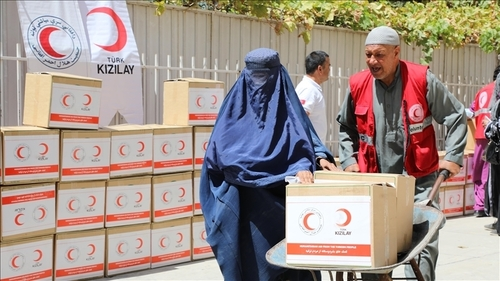 PACF, RCS send 148 tons of aid to Afghanistan