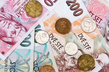 Crown, forint stuck at multi-month lows