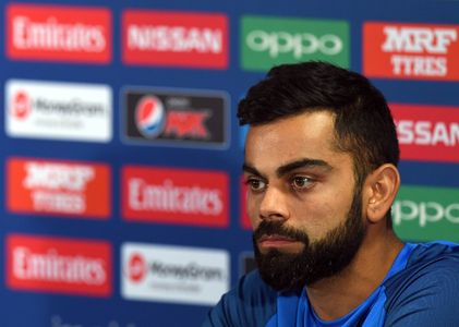 'Will you drop Rohit Sharma?', bemused Kohli asks in reply to question