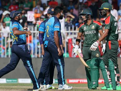 Kumara, Liton fined for on-field row in T20 World Cup