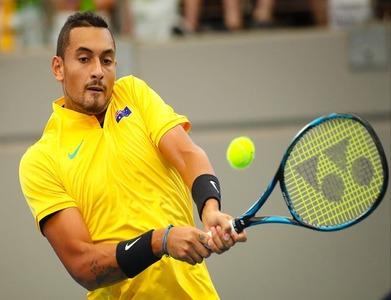 Australia's Kyrgios to miss Davis Cup