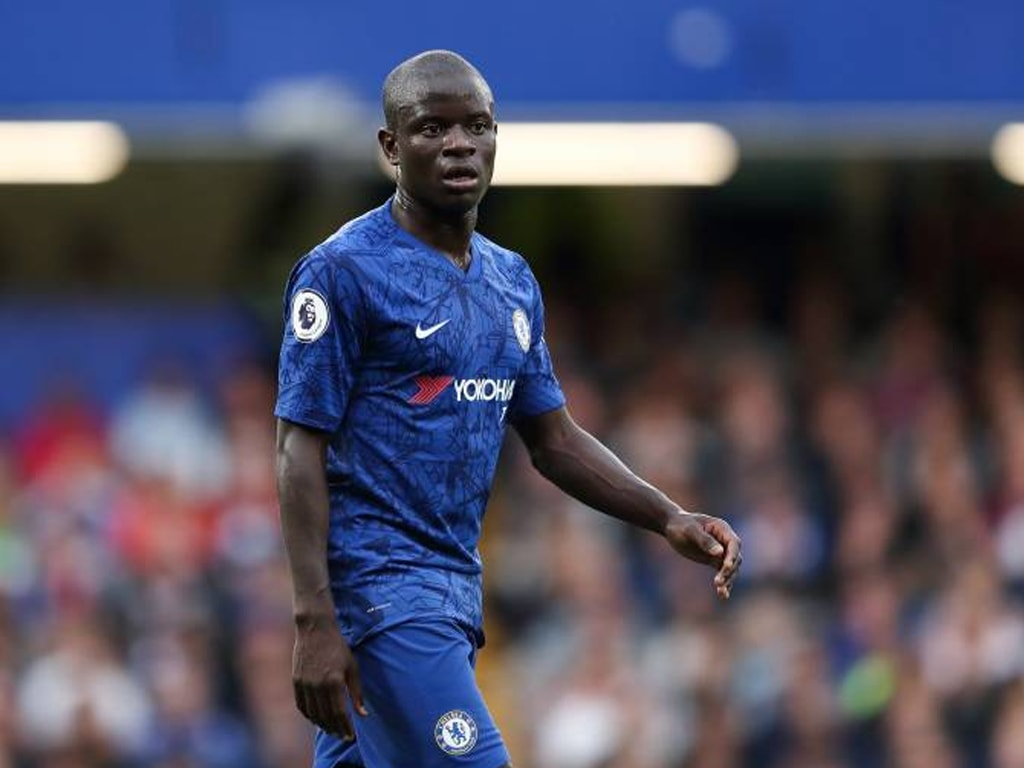 French mid-fielder N'Golo Kante is happy at Chelsea