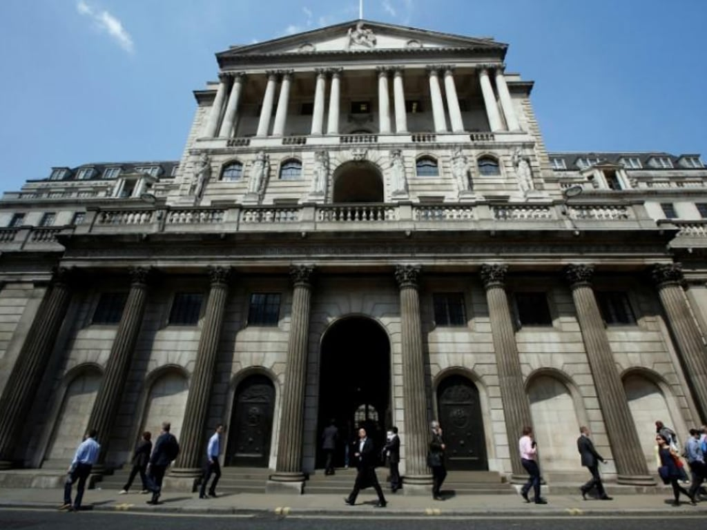 Bank of England raises bond-buying programme again to £745 billion