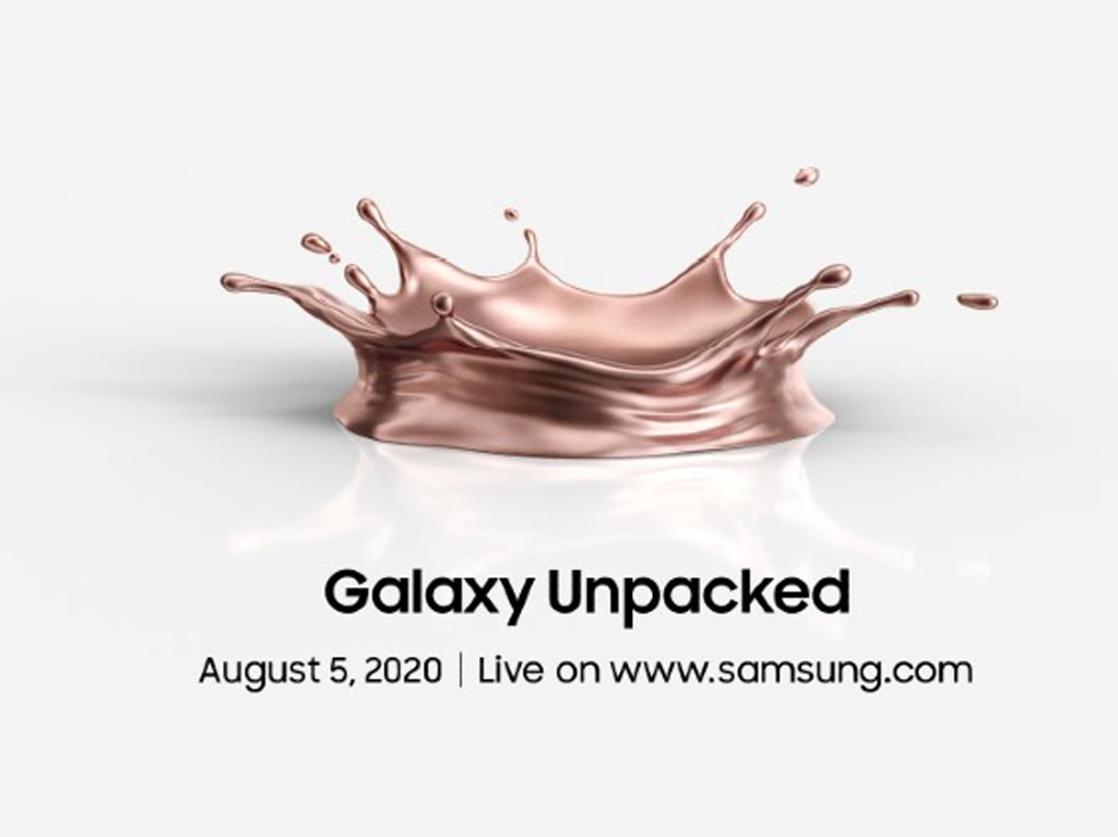 Samsung's Galaxy Note 20 due for an August 5 reveal