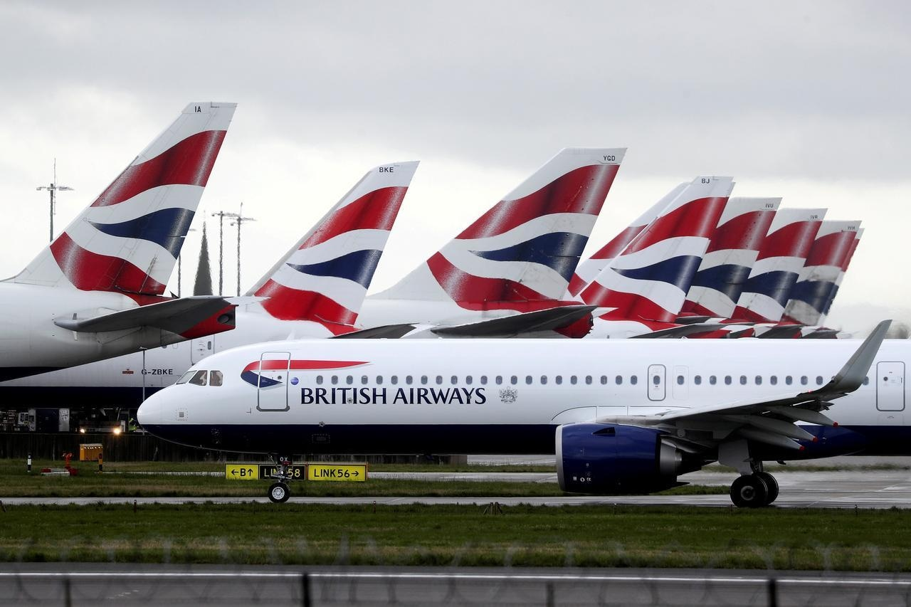 British Airways Pilot Used Oxygen Mask And Five Crew Were Sent To Hospital Over Toxic Fume Fears