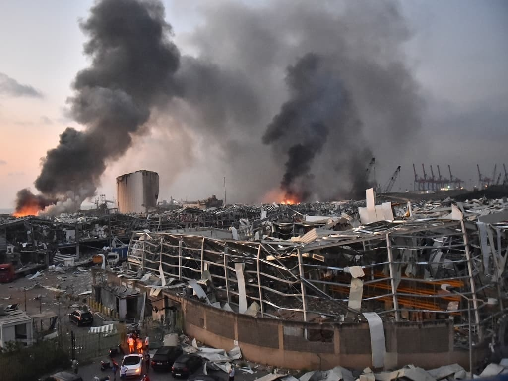 Sixteen detained over Beirut blast: prosecutor - World - Business ...