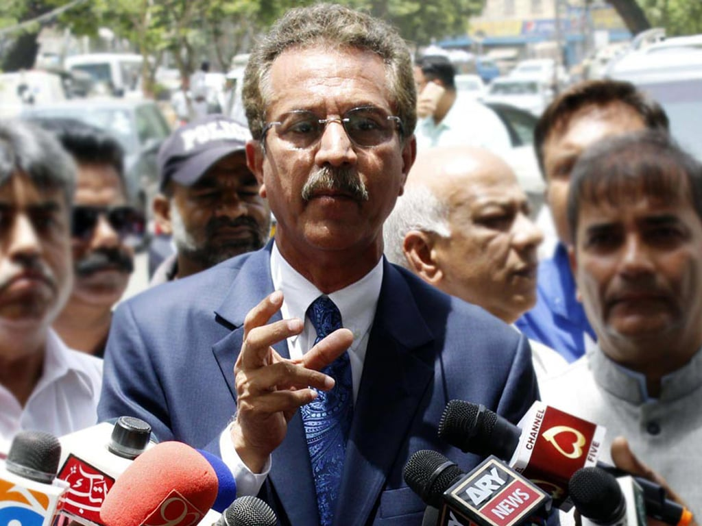 Karachi has no infrastructure to face the rains: Mayor Karachi
