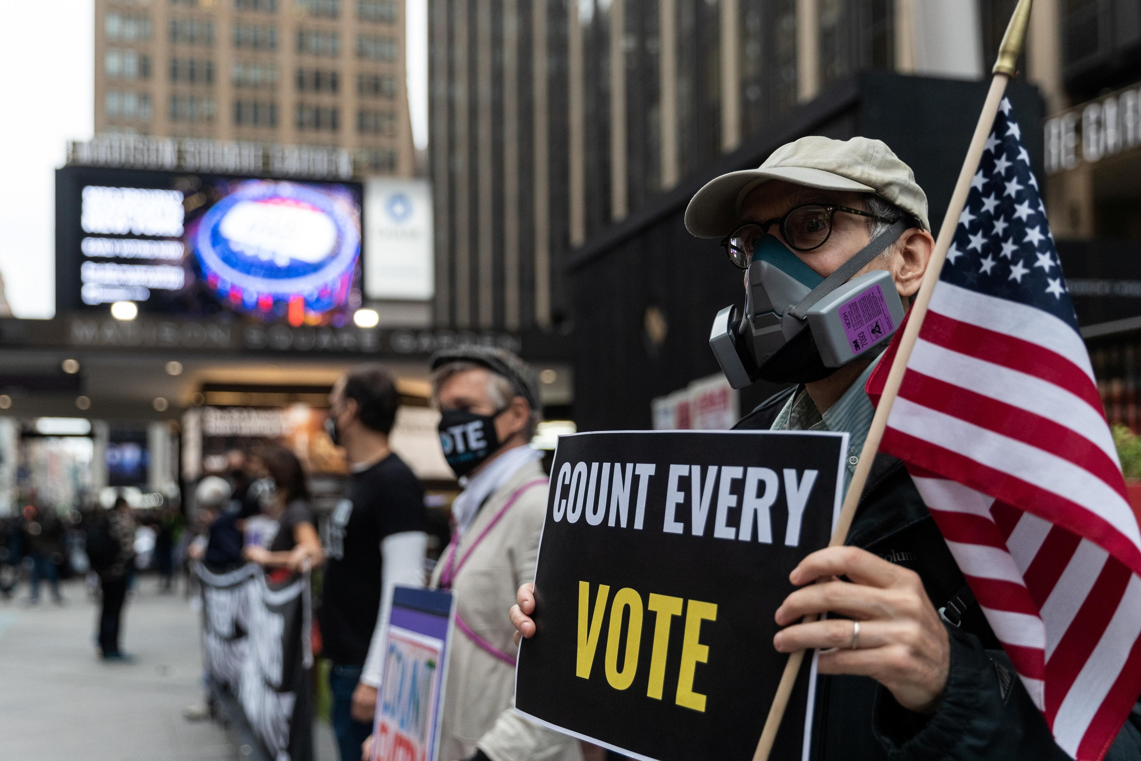 62 million Americans have already cast their votes through mail-in ballots and early-voting alone, shattering previous voting records, and setting up the 2020 Presidential election for historic levels of turnout.  Source: Reuters