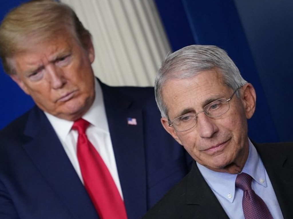 White House accuses top scientist of playing politics on COVID-19