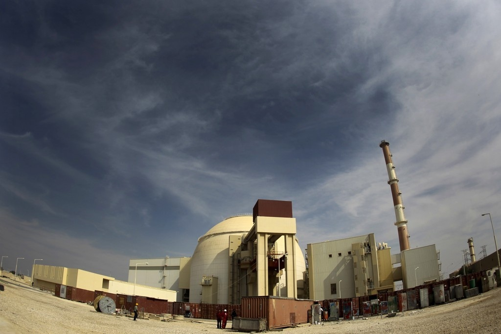 Iran's Bushehr nuclear power plant, built by Russia. Source: Reuters.