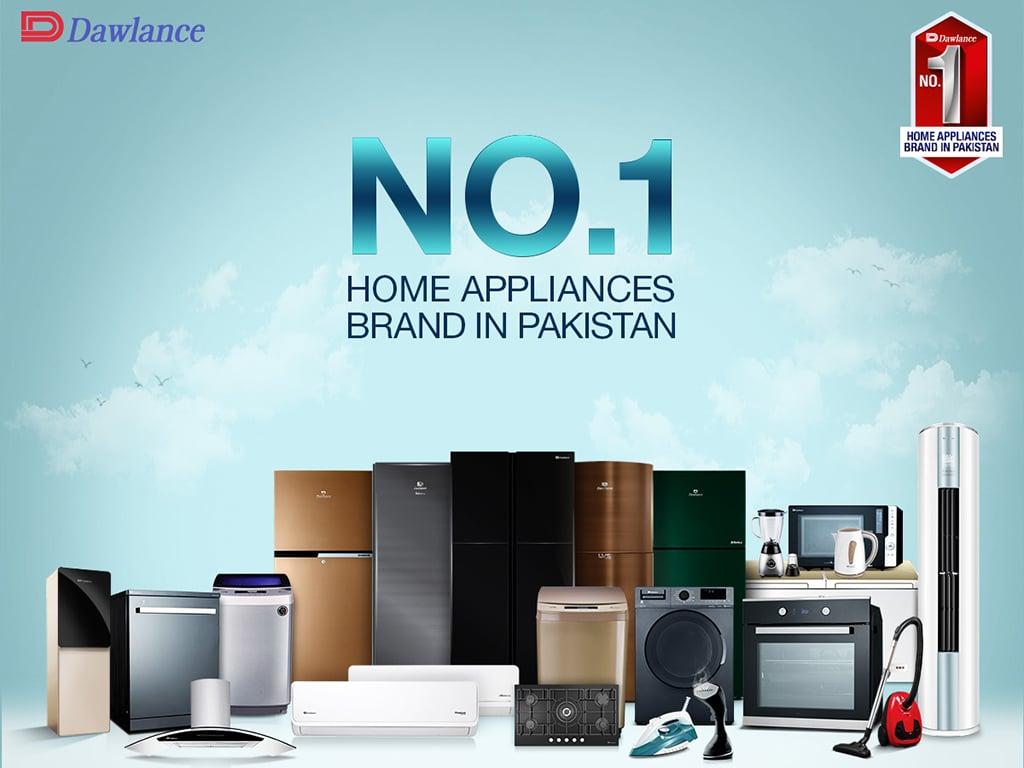 Global institution ranks Dawlance as Pakistan's no.1 brand among home appliances