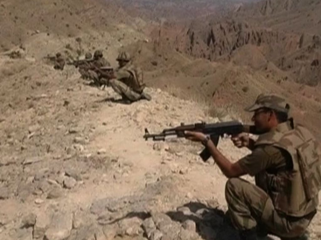 Pakistani soldier martyred, four terrorist killed in NW IBO, ISPR