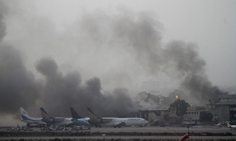 Karachi Airport attack case: ATC acquits four accused as prosecution fails to prove charges