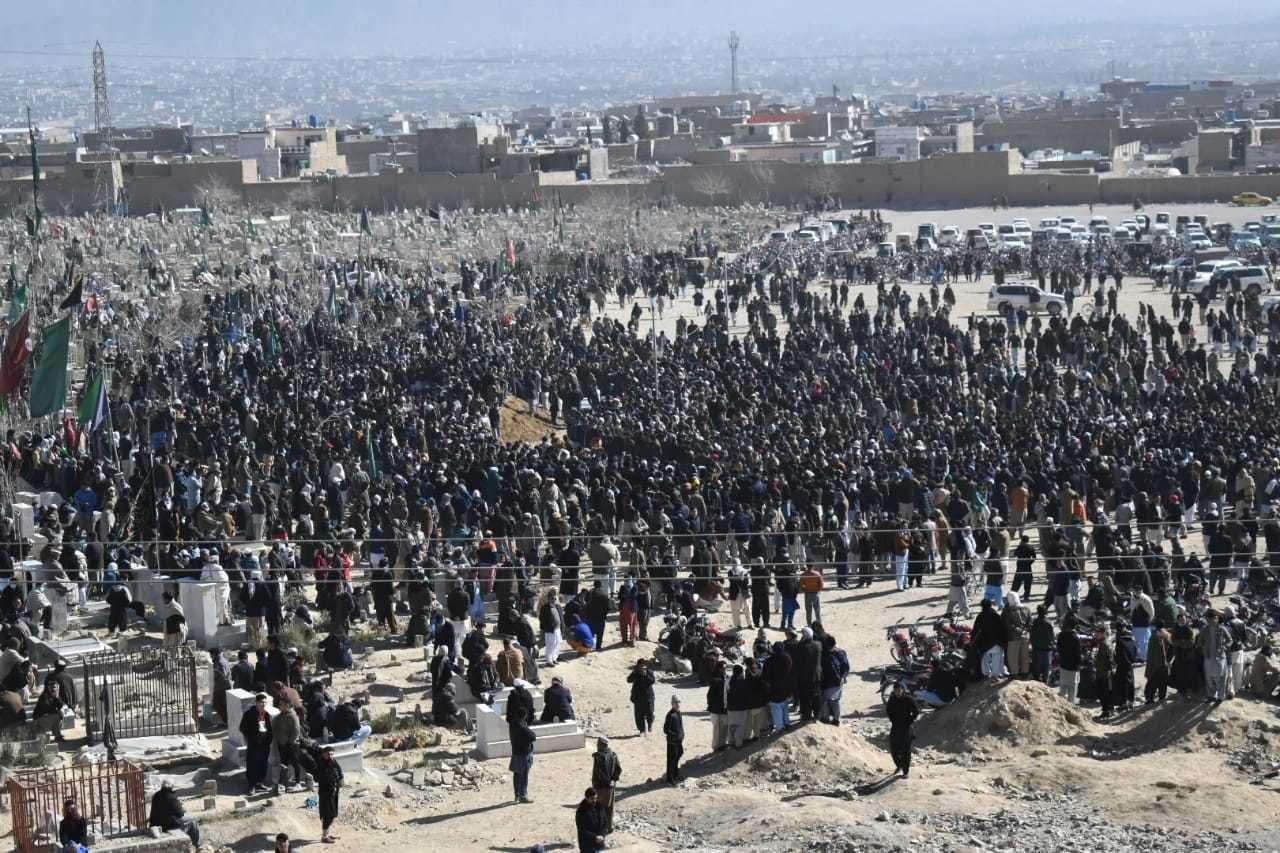 Mach massacre: Coal miners laid to rest in Quetta's Hazara Town