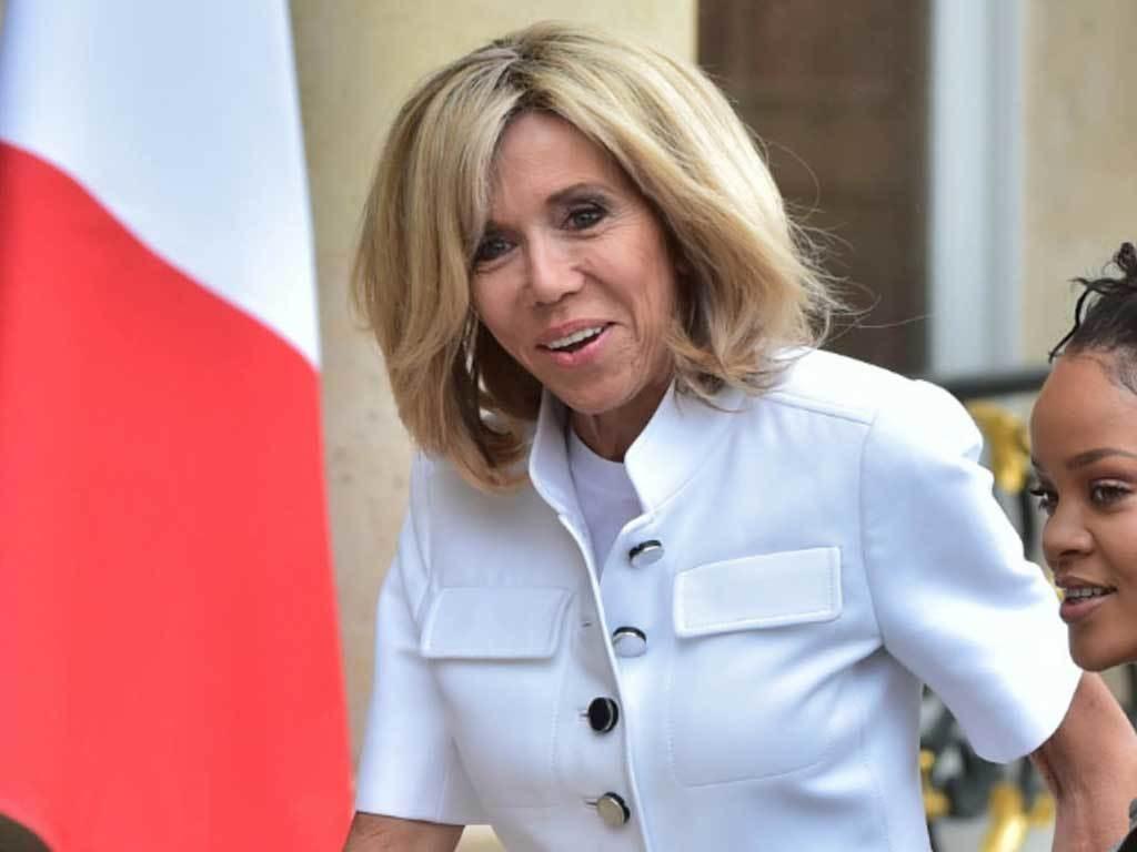 French president's wife caught virus over Christmas