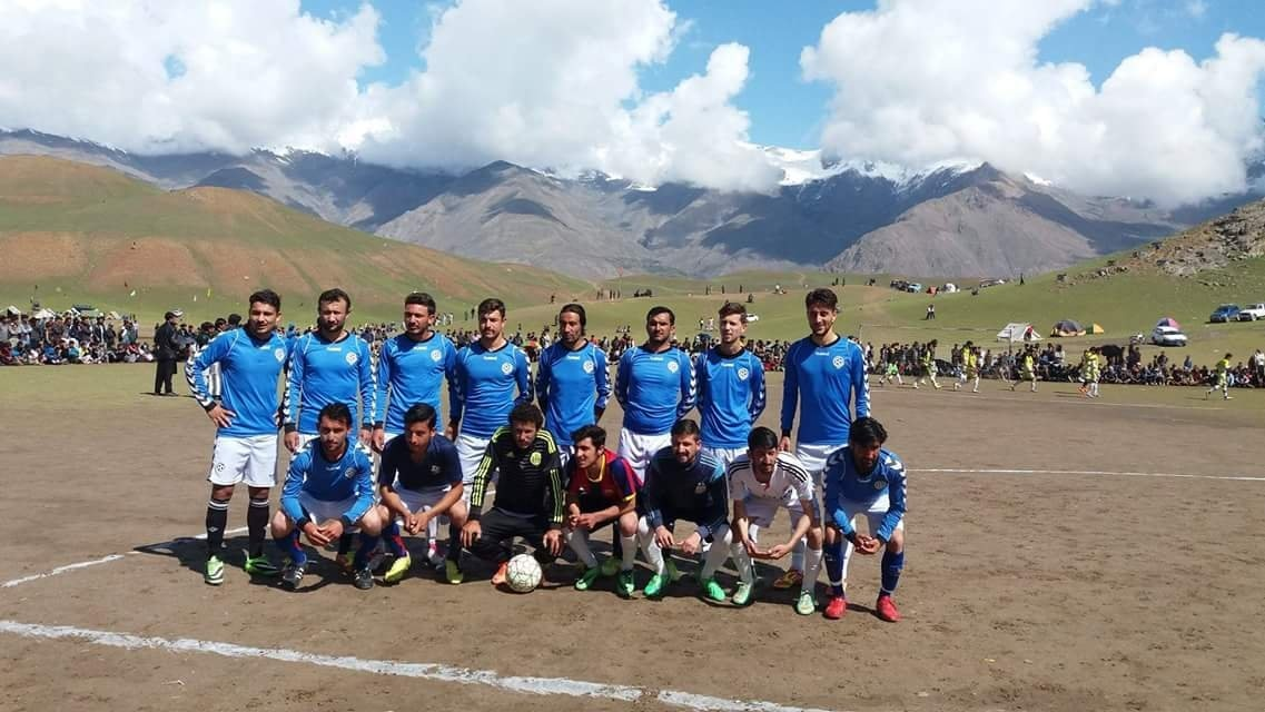 A local football match underway in Chitral, Khyber Pakhtunkhuwa. Source: FootballPakistan.com (2017).