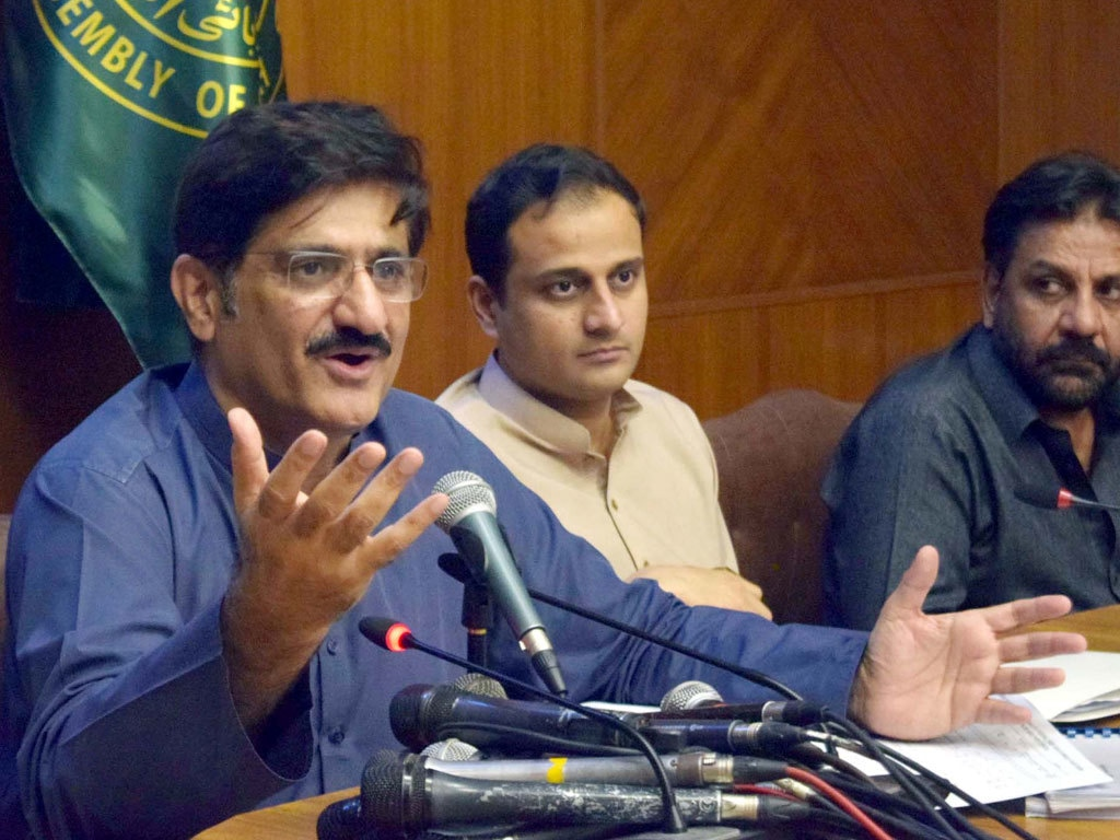 Sindh, Centre started different projects in Karachi: CM