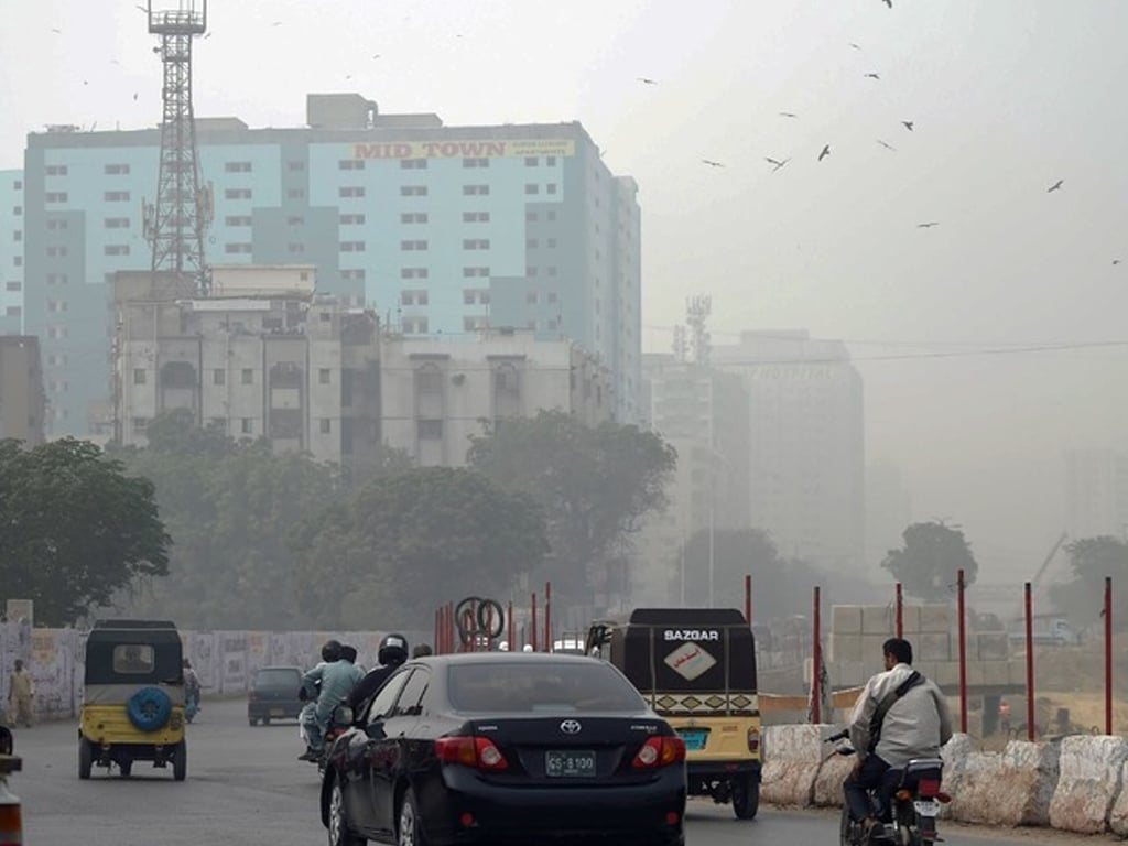 Karachi likely to remain dusty till evening