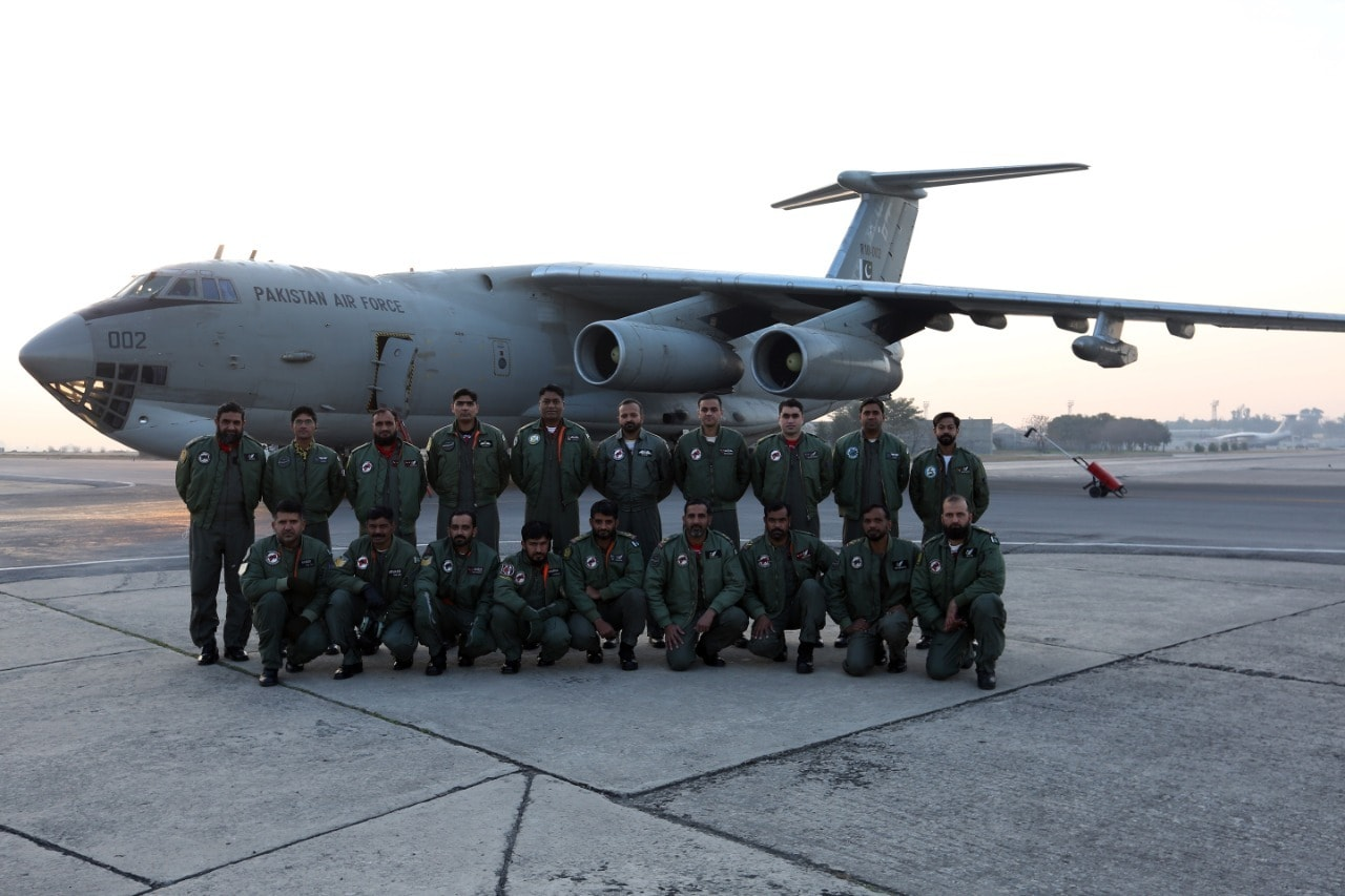 PAF plane departs for China to airlift first tranche of COVID-19 vaccine