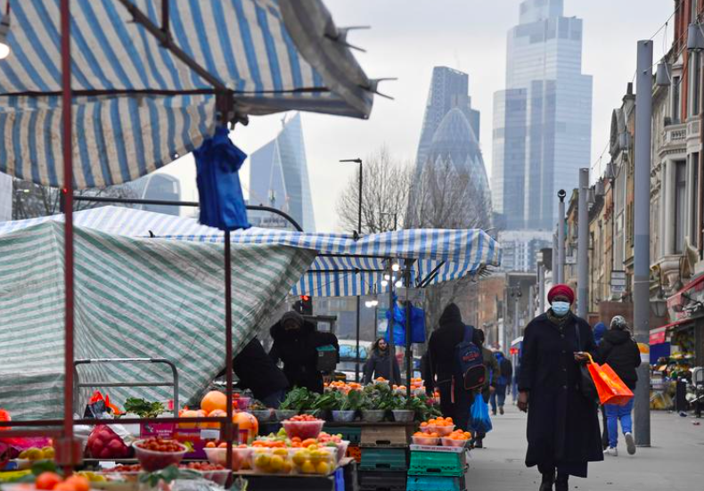 UK economy suffers record 9.9% slump in 2020 after COVID-19 hit