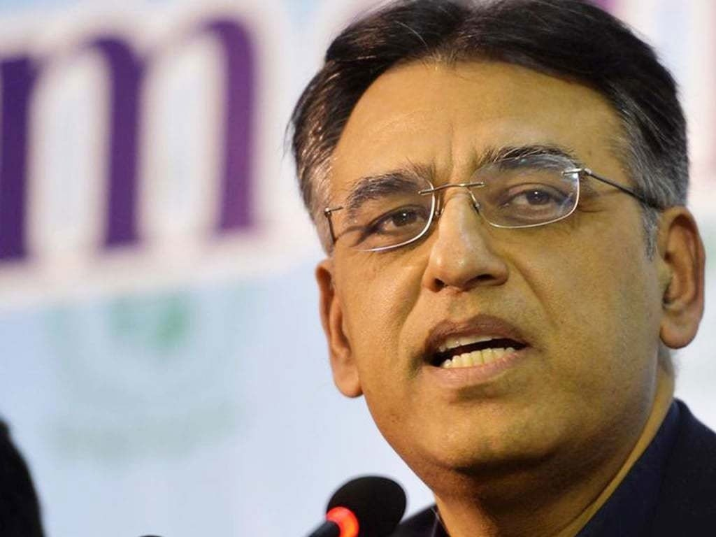 Country's large industry showing strong growth: Asad Umar