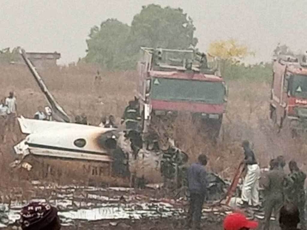 Image result for 7 killed in Nigerian military plane crash near Abuja airport