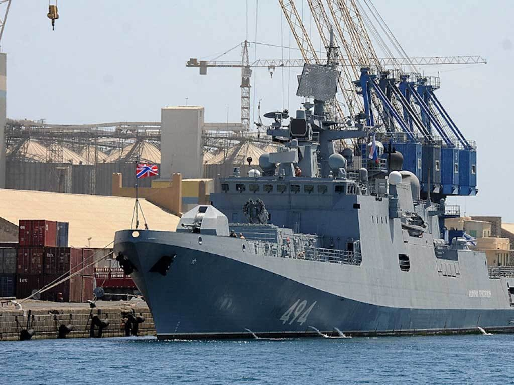 US, Russia warships dock in strategic Sudan port