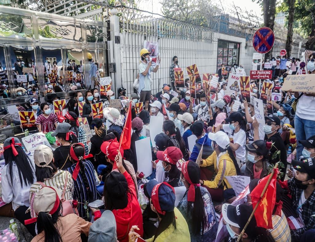 Myanmar security forces shoot dead nine anti-coup protesters despite calls for restraint