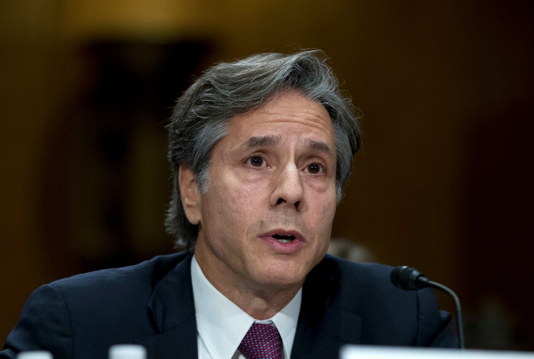 Blinken calls China biggest 'test,' vows US strength