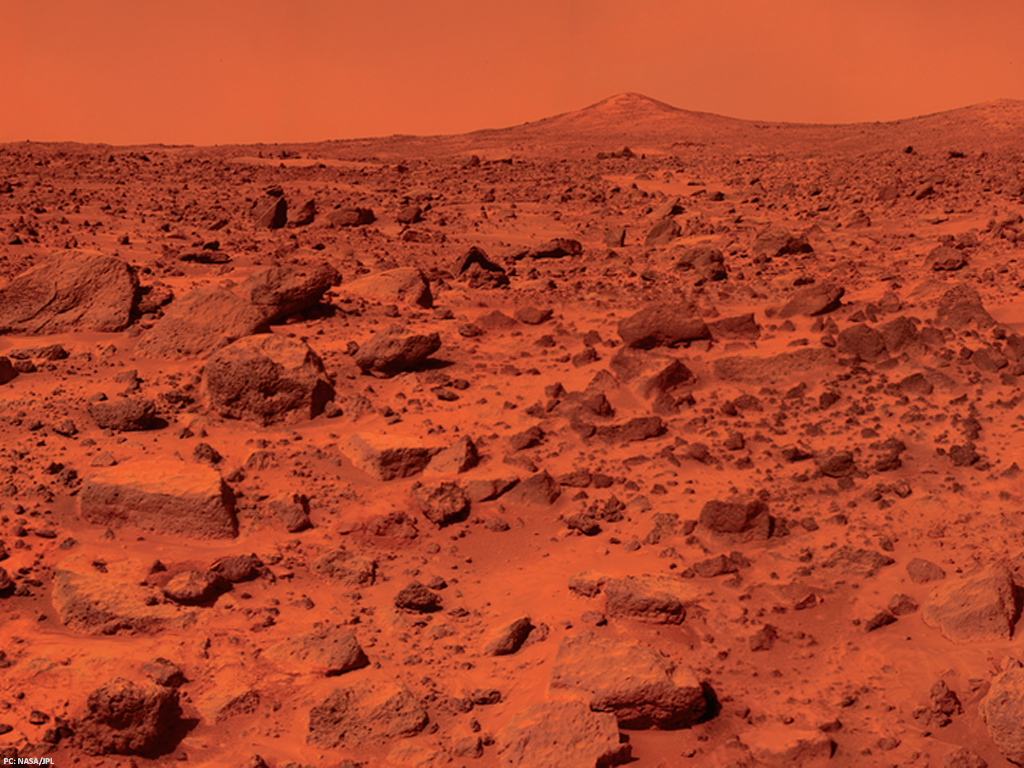 Mars' 'missing' water is buried beneath surface: study