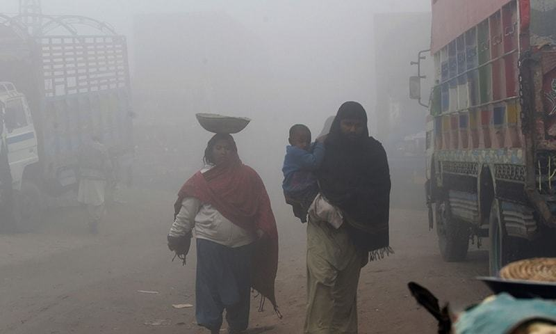 Pakistan ranked world's second most polluted country: IQAir