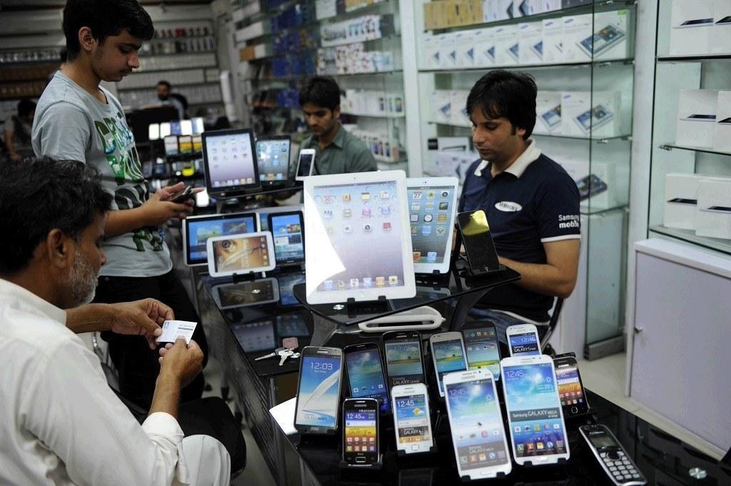 Mobile phones and digital divide