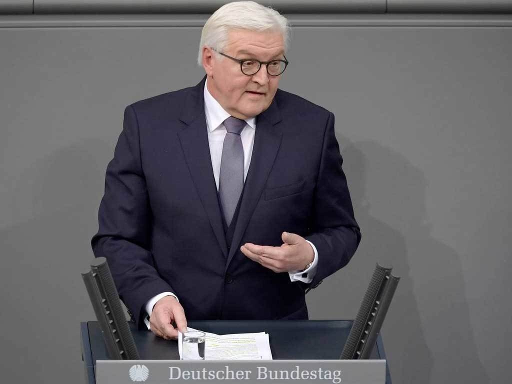 German president Steinmeier receives AstraZeneca jab
