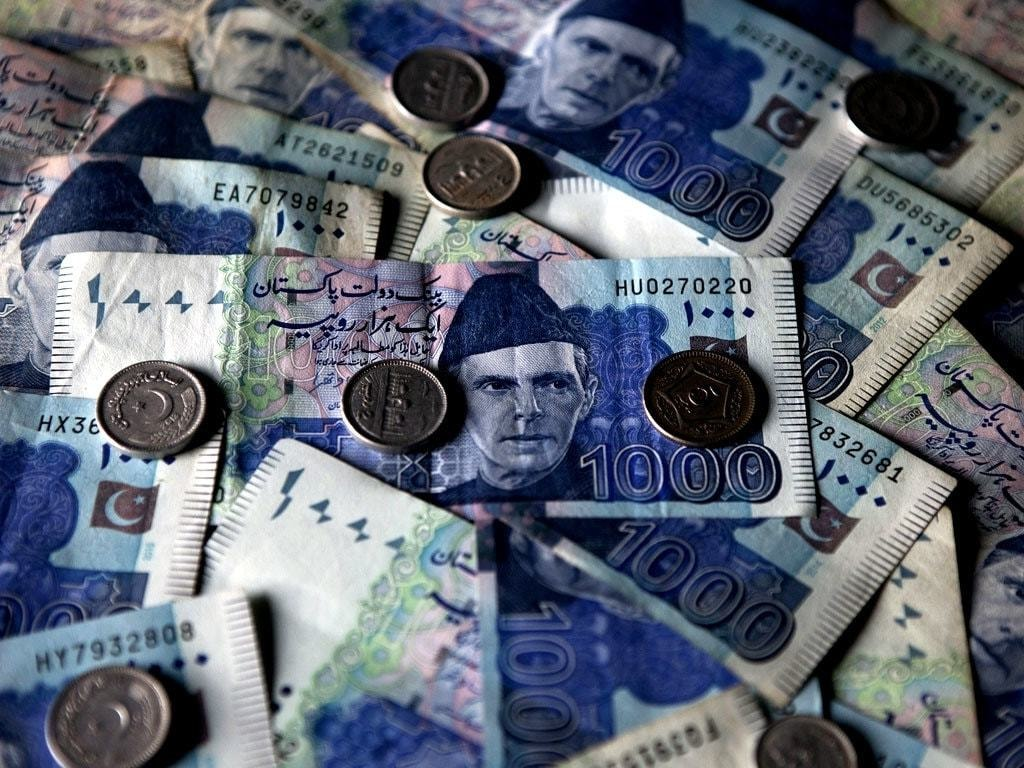 THE RUPEE: Steadily goes down against USD
