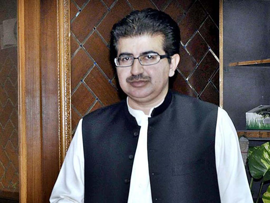 Azam Nazeer Tarar calls on Sadiq Sanjrani