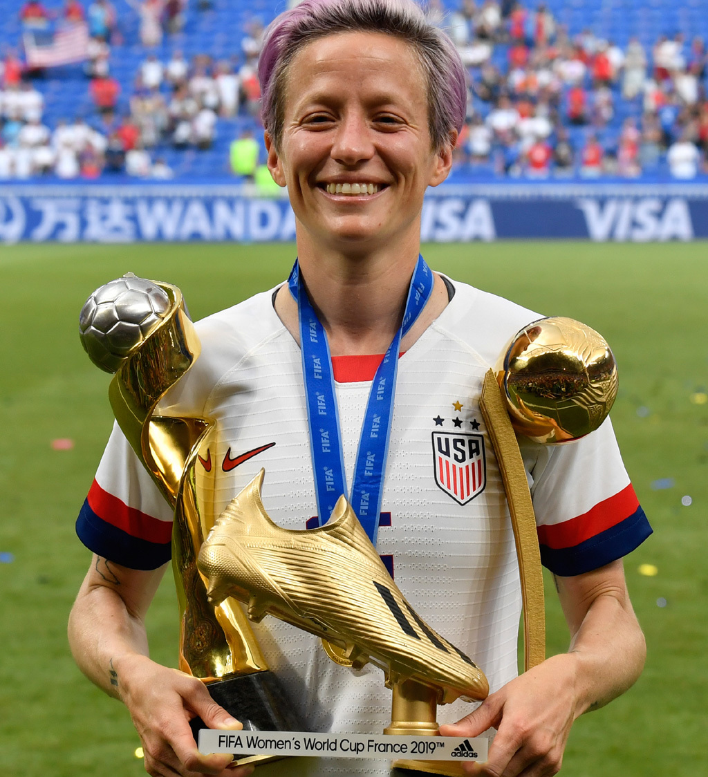 Tokyo delay could boost back-to-back bid says Rapinoe