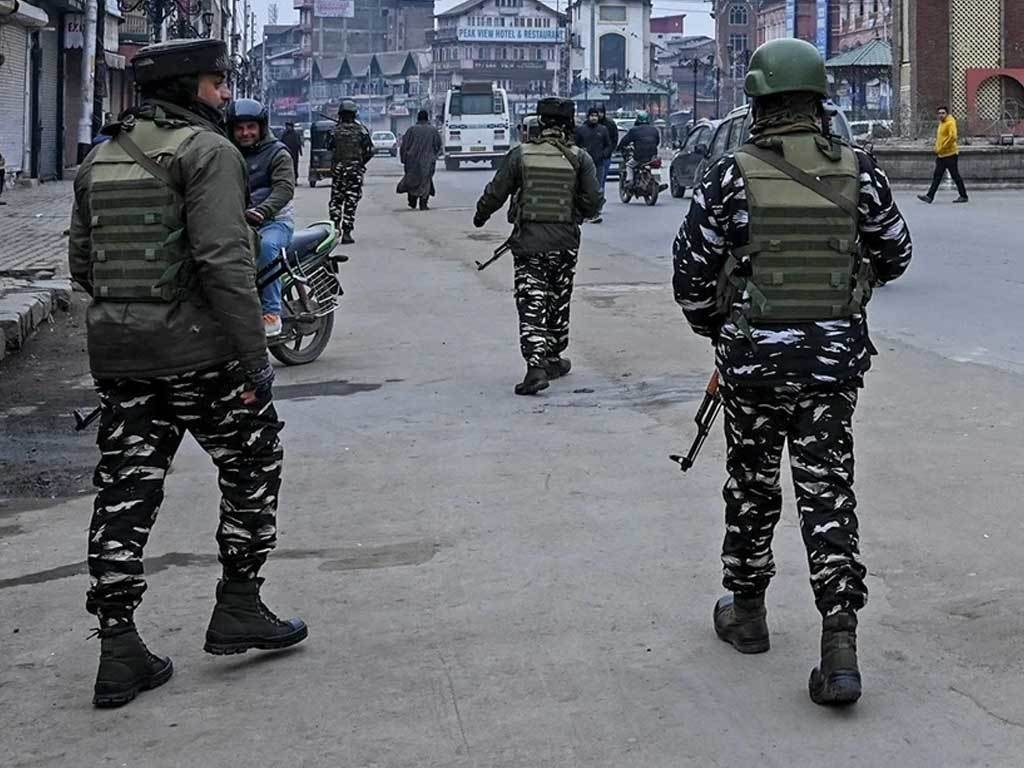 Indian troops shoot dead four in fresh election bloodshed