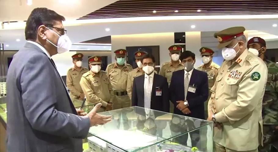 COAS Bajwa visits Fauji Foundation, inaugurates 100-bed hospital