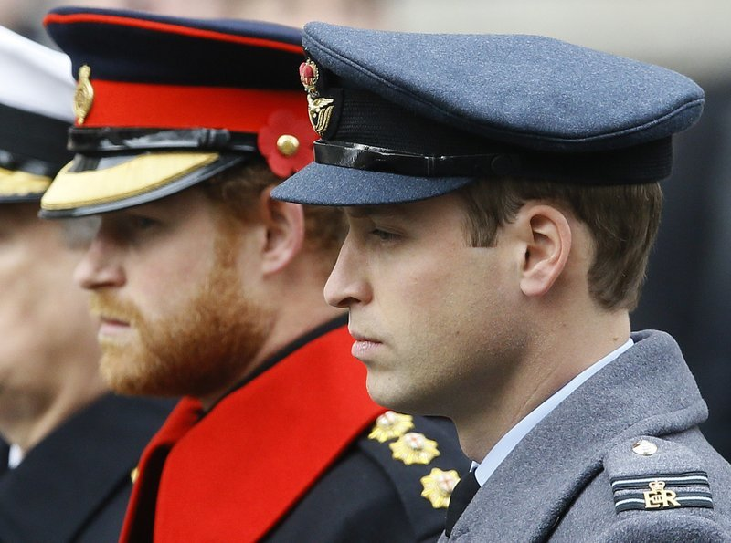 Princes William and Harry won't walk side-by-side at ...