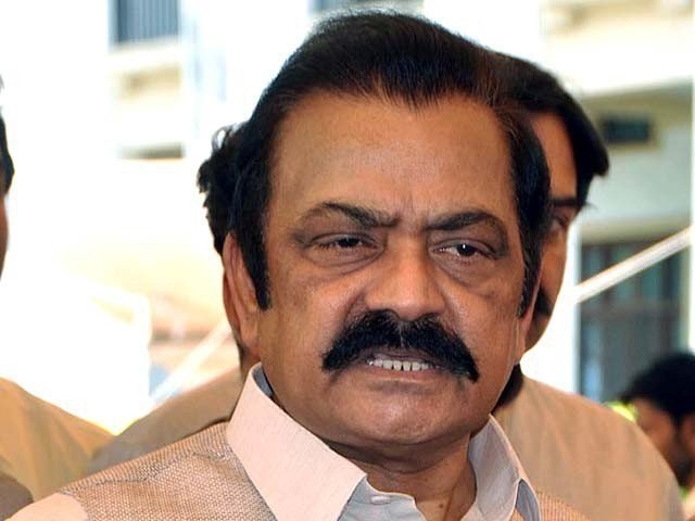 Federal Govt decides to register case against Rana Sanaullah on terrorism charges for threatening the government officials