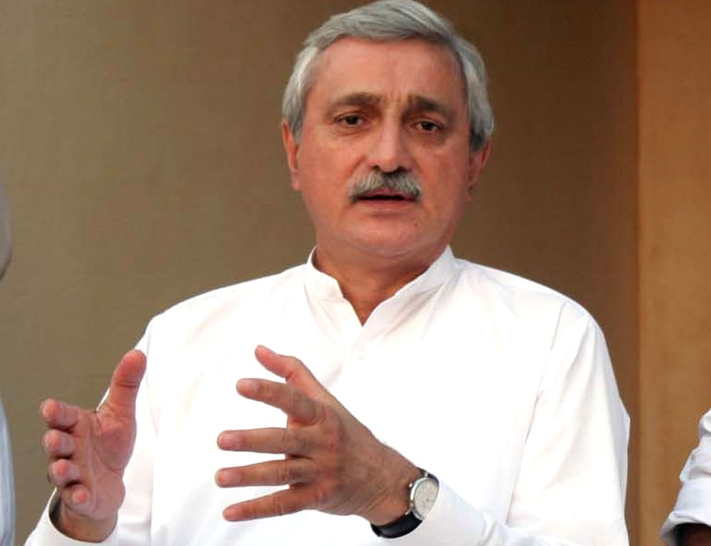 We will only meet PM, says Tareen