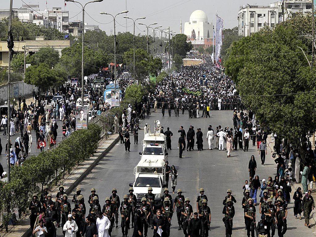 Thousands participate in Youm-e-Ali (RA) procession in Lahore
