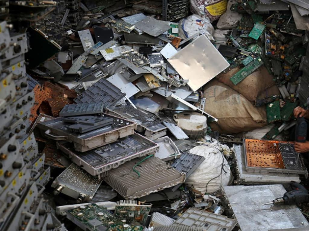 E-waste recycling matter of national security: report
