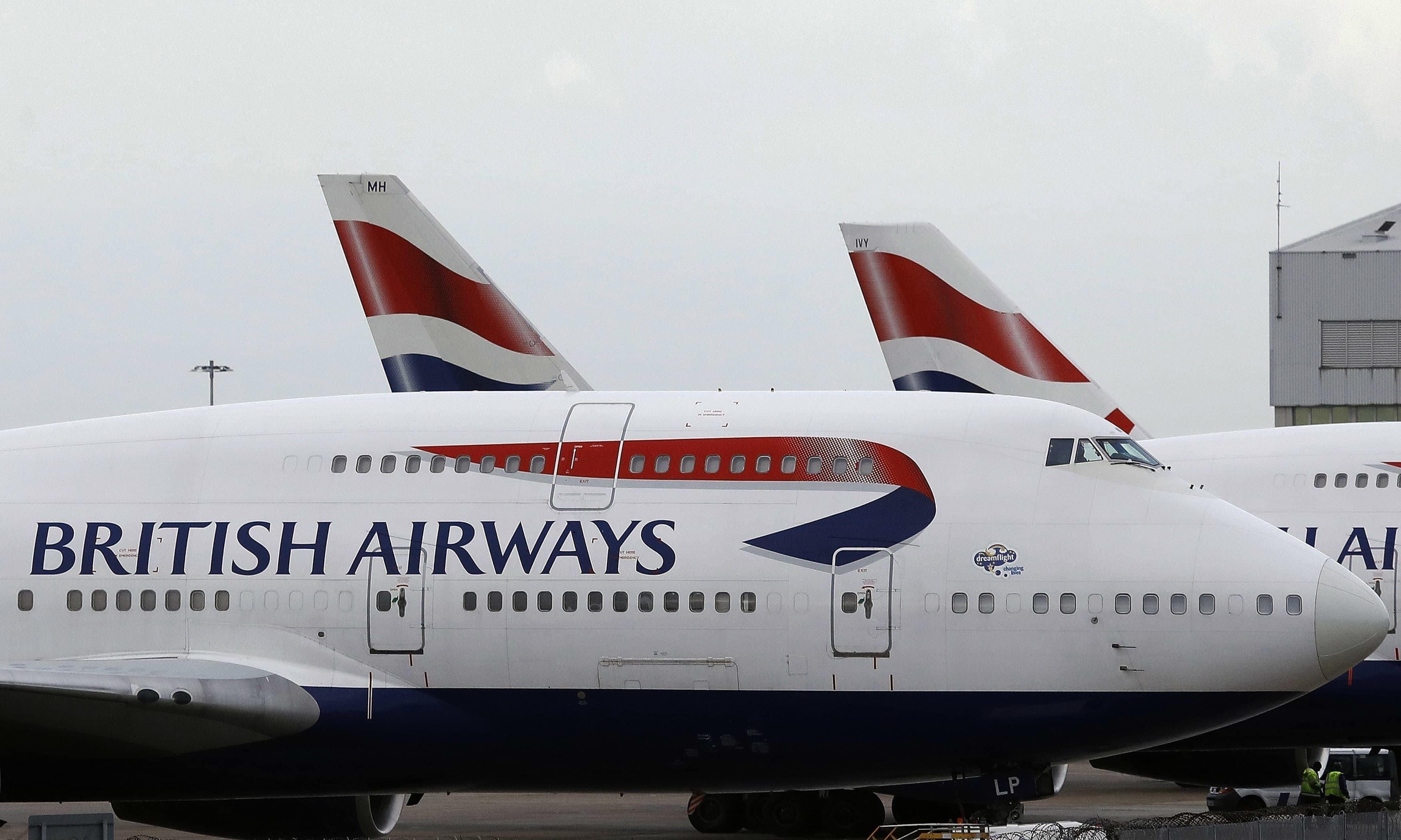 FILE - In this Jan. 10, 2017 file photo, British Airways planes are parked at Heathrow Airport in London. British Airways will resume flights to Pakistan in June 2019, a decade after it suspended operations following bombing on the Marriott Hotel in Islamabad that killed dozens, an official of British Airways said in a statement, Tuesday Dec. 18. 2018. (AP Photo/Frank Augstein, File) — Copyright 2017 The Associated Press. All rights reserved.