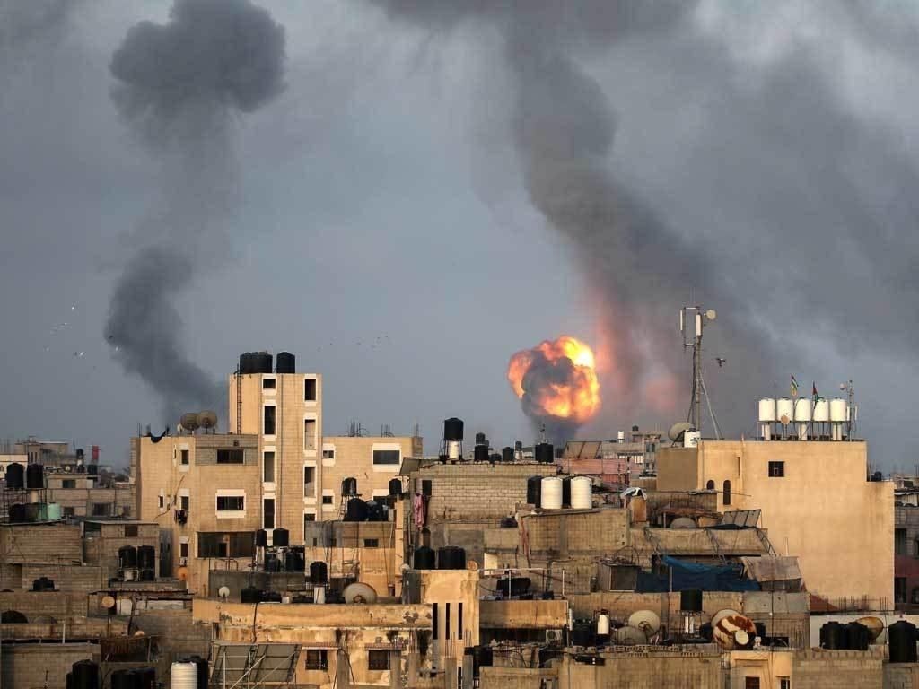 Gaza pummelled by fresh Israeli air strikes, nearly 200 dead in a week