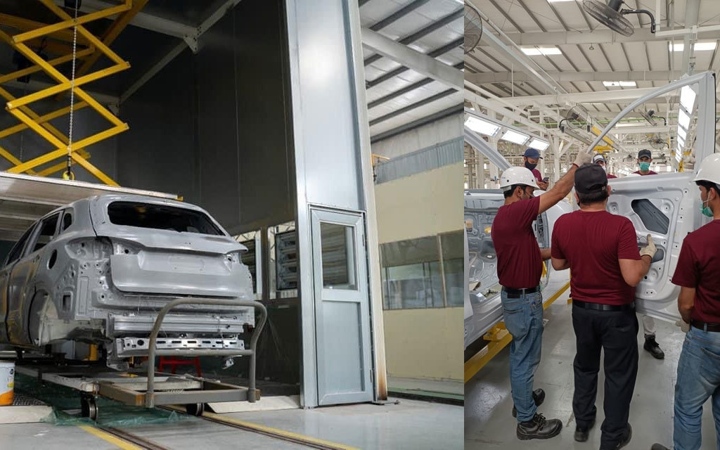 MG Pakistan's local assembly plant is almost ready