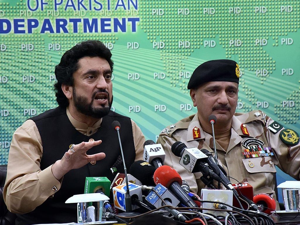 Afridi calls upon UNHRC to press India for release of  Ashraf Sehrai's relatives