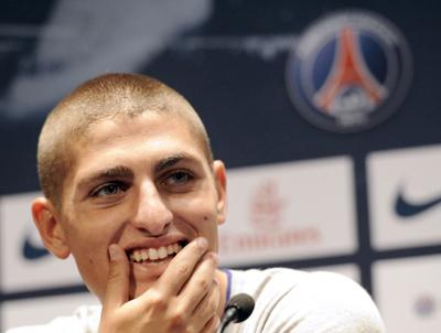 Mancini names injured Verratti, Sensi in Italy's Euro 2020 squad