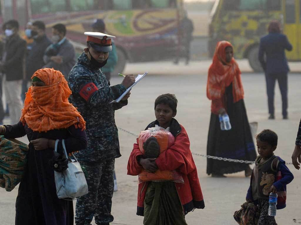 UN 'concerned' over detention of Rohingya who fled Bangladesh island